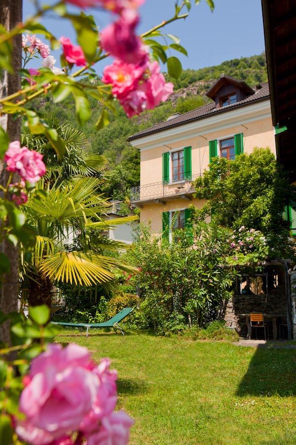 _casa gialla_giardino_rose