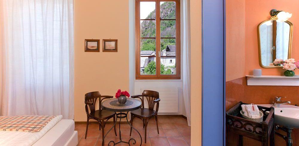 Ticino feel casa gialla